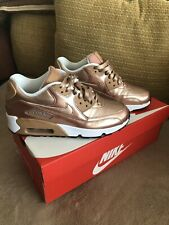 Nike Air Max 90 Rose Gold Trainers UK 5.5