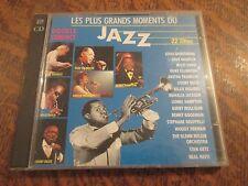 album 2 cd les plus grands moments du jazz 32 titres