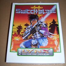 Atari Lynx video game handheld console cartridge Switchblade II NEW BOXED sealed
