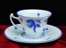 """Rosenthal Porzellan Mokkatasse um 1950 """" Blaues Rosendekor """" !!! Nr.402"""