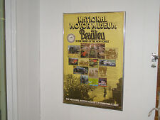 National Motor museum Beaulieu Framed Poster - In the heart of the New Forest