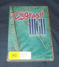 DEGRASSI HIGH SEASON ONE DVD REGION 4 VGC
