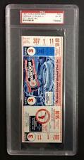 1967 WORLD SERIES FULL TICKET GM#3   PSA 6 EX-MT