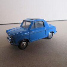 157F Vintage Dinky 24L Vespa 2cv Bleu 1:43 Meccano