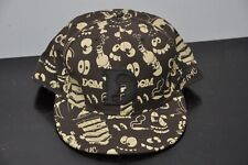 NWOT DQM x New Era NYC fitted cap Brown/Beige size 7-7/8