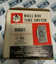 Mark-Time 90001, 12 Hour Wall Box Time Switch- New
