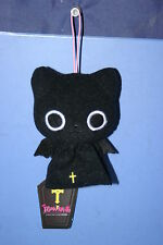 The Gothic World of Nyanpire Black Cat Teru teru bozu Weather Plush Doll 4.4""
