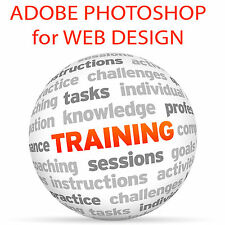 Adobe Photoshop per web design-Video formazione tutorial DVD