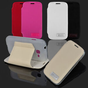 For Samsung Galaxy Young 2 g130h PU Leather Phone Case Cover Stand Card Soft TPU