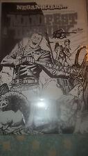 Image Manifest Destiny #21 Negan Kills B&W SDCC Comic Signed Matthew Roberts