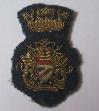 british airways vintage bullion wire  side cap badge  / insignia