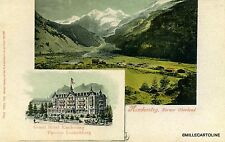 SCHWEIZ/SWITZERLAND, Kandersteg, grand Hotel - edit. Guggenheim n. 7954