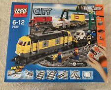 Lego City 7939 Yellow Cargo Train Retired New and Sealed Rare