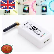 Wireless WiFi RGB LED Strip Light Controller For iOS iPhone Android phone Pad EA