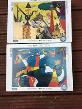 Joan Miro Eurographics 1000 Piece Puzzles X2