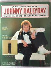 Johnny Hallyday La collection officielle Livre CD C'est la vie