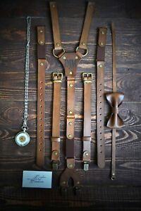 Men Suspenders, leather Suspenders, personalized Suspender, Handmade Suspenders
