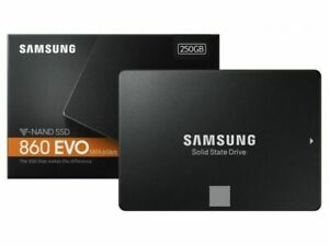 Samsung 860 EVO 250GB V-NAND 3bit MLC SATA3 6Gb/s 2.5-inch SSD