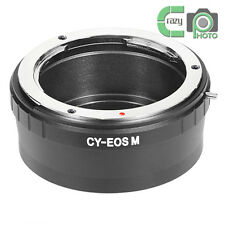 CY-EOS M Adapter for Contax Yashica C/Y Lens to Canon M1 M2 Mirrorless Camera