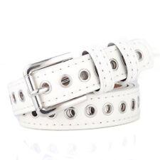 Fashion Women Metal PU Leather Square Buckle Waist Belt Waistband Jeans Accessor