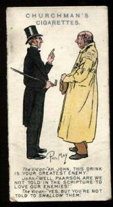 Tobacco Card, Churchman, PHIL MAY SKETCHES, 1912, #41