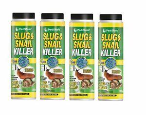 Pestshield Organic Slug & Snail Killer Ferric Phosphate Mini Blue Pellets 300g