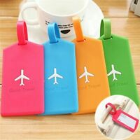 Luggage Tags Label Strap Name Address ID Suitcase Bag Baggage Travel Accessories