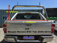 3'' Stainless steel Ladder Rack fit Nissan Navara D40 Tub 2006-2014
