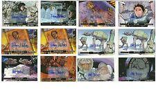 Star Wars Illustrated: ESB: AUTOGRAPH BASE CARDS~ U-PICK -1-  (2015)