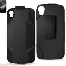 """Reiko Alcatel OneTouch Idol 3 5.5"""" Heavy Duty Holster Combo Case with Belt Clip"""