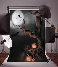 5x7ft Halloween Night Old Tree Photography Backgrounds Vinyl Photo Backdrop Prop