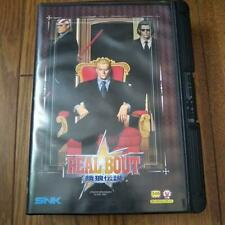 Neo Geo AES Real Bout Fatal Fury Garou Densetsu SNK NeoGeo No instructions