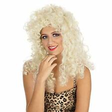 CURLY WIG LONG. BLONDE BUDGET BOXED COST-AC NEW