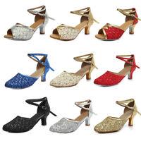 New women's Latin Ballroom Dance Shoes Party Tango Modern Salsa Dancing Shoes