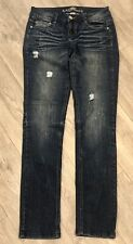 Almost Famous Jeans Bootcut Stretch Size 7 Inseam 31""