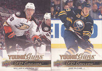 14-15 Upper Deck Jake McCabe UD Canvas Young Guns Rookie Sabres 2014