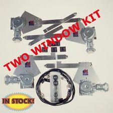 Specialty Power Windows 5557-SF - 1955-57 Chevy 2 Door Sedan 2 Power Window Kit