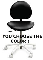 Galaxy 2060 Ergonomic Dental Saddle Stool Doctor's Contoured Chair 17 COLORS!