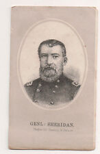 Vintage CDV General Philip Henry Sheridan Union General American Civil War