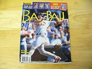 Beckett Baseball Card Monthly Magazine - April 1999 (Mark McGwire) - VINTAGE