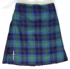 "Scottish 100% Wool 8 Yard Kilt & Kilt Pin 30"" - 32"""