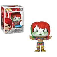 Asuka Green Mask WWE Funko Pop Vinyl New in Mint Box + Sticker + Protector