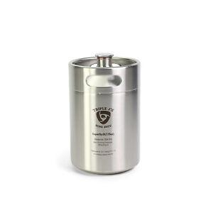 Mini Stainless Steel Growler Ss Keg 5L 304 (174MM X 280MM) Home Brew
