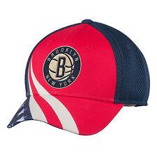 adidas BROOKLYN NETS NEW YORK NBA Patriotic American Flag Mesh Baseball Hat NWT