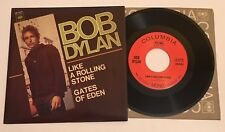 BOB DYLAN Like A Rolling Stone 2011 MONO 45 w/ PS / Mint Unplayed