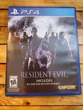 Resident Evil 6 Sony Playstation 4 PS4 Capcom
