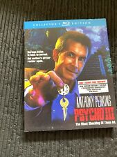 Psycho Iii (Collector's Edition) Scream Factory Blu-Ray (Anthony Perkins)