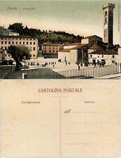 Fiesole, Firenze, piazza Mino, bella animata colorata nuova condizioni perfette
