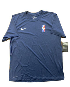 Rare Nike NBA Issued Practice/Workout T-Shirt Navy Size XL