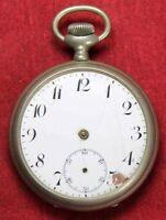 Paradox 48mm Pocket Watch - OF Case - Vintage - Parts/Repair